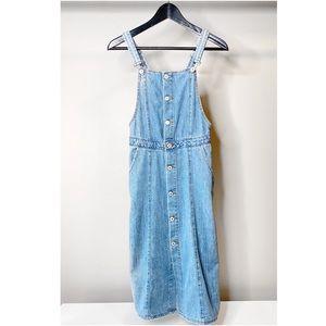 Zara Denim Midi Dress